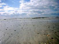 écrire à la plage