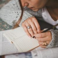 Résolution n°1 : écrire tous les jours